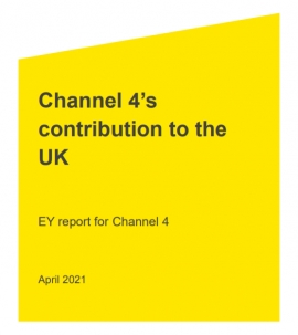 New EY report shows Channel 4 contributes nearly £1billion to the UK economy and supports more than 10,000 jobs across the UK