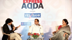 Former Union Minister P Chidambaram was the Chief Guest at Express Adda