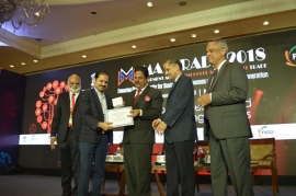 The CEO of gullybaba publication house was honoured with #BeAcascader Award in FICCI CASCADE's Annual Event 'MASCRADE 2018'
