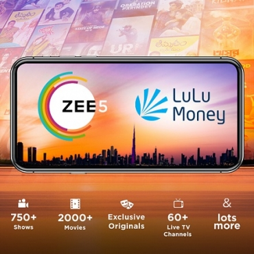 ZEE5 Global Announces a Partnership with Lulu Exchange to reach over 100,000 consumers across the Middle East