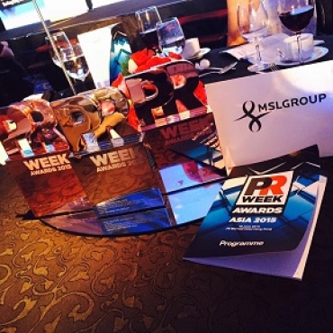 Three Awards for MSLGROUP in PRWeek Awards Asia