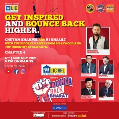 Fever Network's Bounce Back Bharat-Chapter 4 went live with former cricketer Chetan Sharma