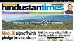 Ford India launches an innovative campaign with Hindustan Times