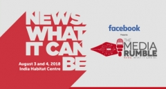 Announcing the 2nd edition of International News Forum - The Media Rumble 2018