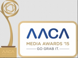 AACA presents AACA Media Awards 2015