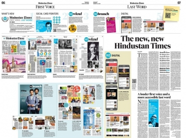 HT Media Group refreshes its flagship brand and launches the all-new Hindustan Times