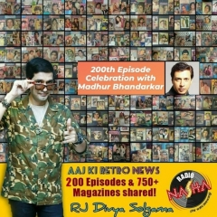 Radio Nasha's Aaj Ki Retro News completes 200 episodes