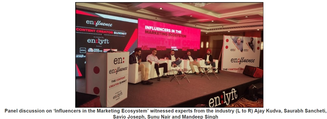 "Enlyft Networks Brings India's Top Influencers and Brands together at ""en:fluence - 2019"