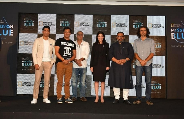 National Geographic and Farhan Akhtar team-up for water conservation with MISSION BLUE