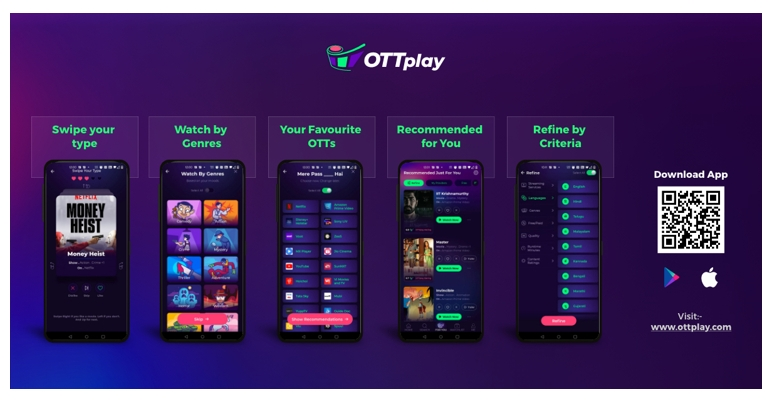 HT Labs launches OTTplay, a content discovery and recommendation platform