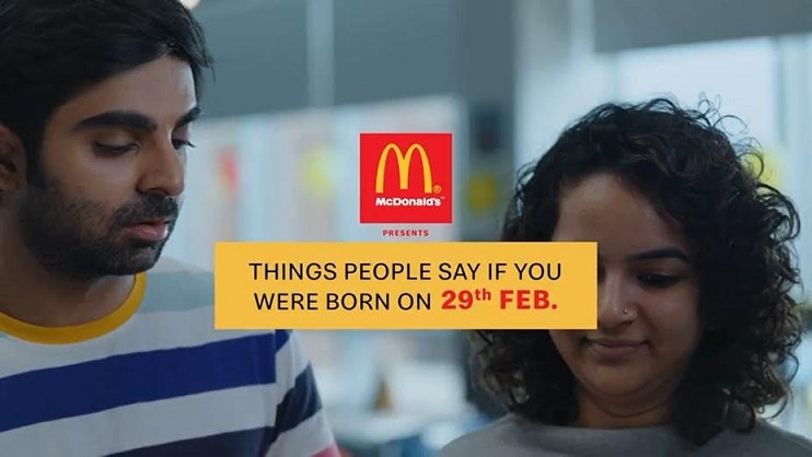McDonald's Is Making This Year Special For those born on February 29th