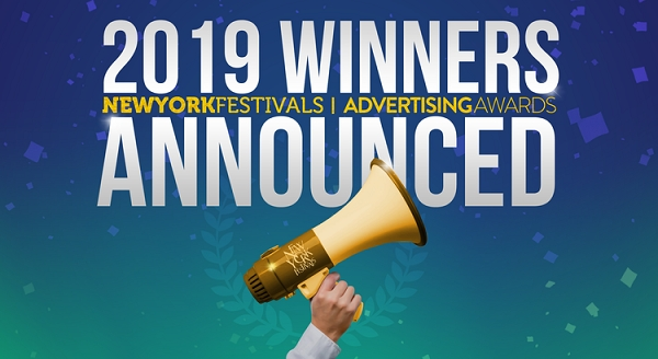 2019 New York Festivals Advertising Awards Announces Winners