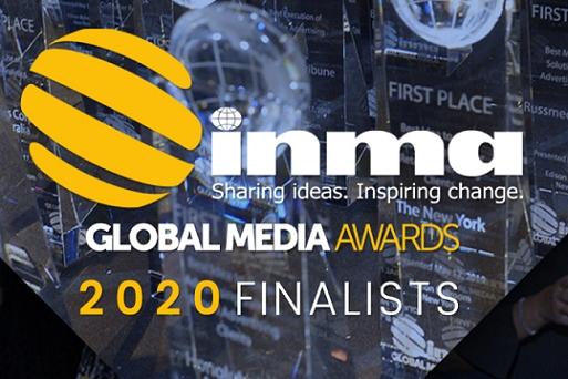 INMA unveils Global Media Awards finalists