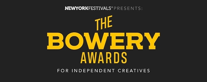 New York Festivals Bowery Awards and Fiverr Shine the Spotlight on Independent Creatives