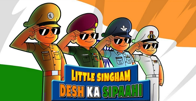 Discovery Kids pays tribute to the Armed forces with an Independence Day special 'Little Singham – Desh Ka Sipahi'