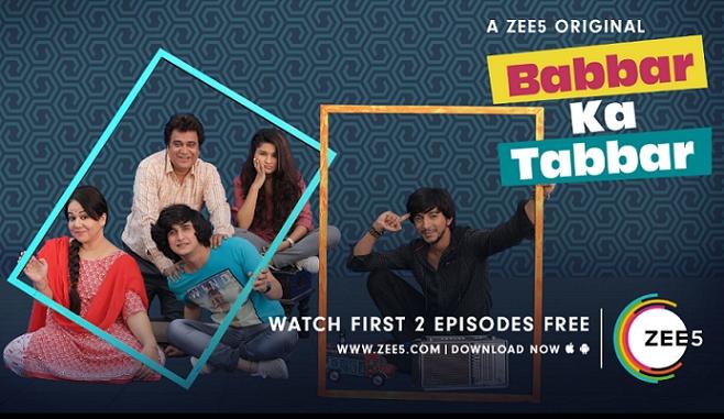 ZEE5 premieres Babbar Ka Tabbar – an Original Series