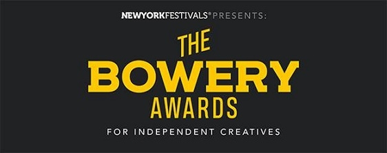 New York Festivals Inaugural Bowery Awards Announces 2020 Finalists