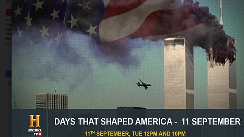 Day that shaped America - 9/11 on HISTORY TV18