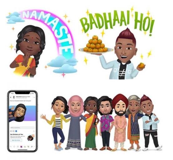 Facebook launches Avatars in India