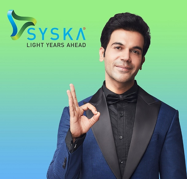 Syska Group announces versatile actor Rajkummar Rao as its new brand ambassador