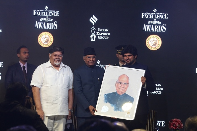 Ramnath Goenka Excellence in Journalism Awards -  Highlights