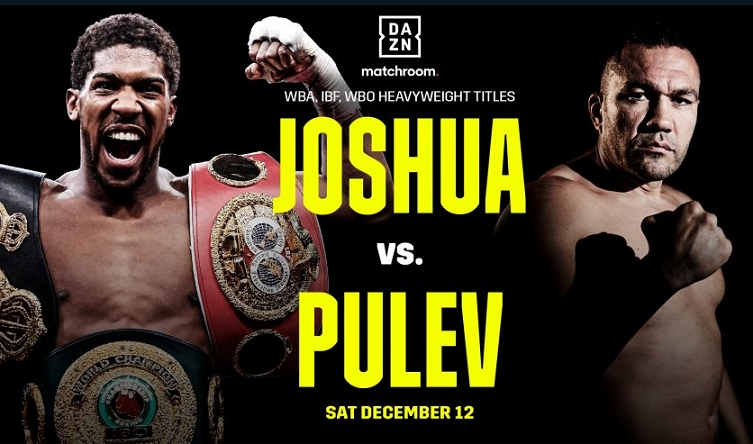 Joshua vs Pulev confirmed for December 12