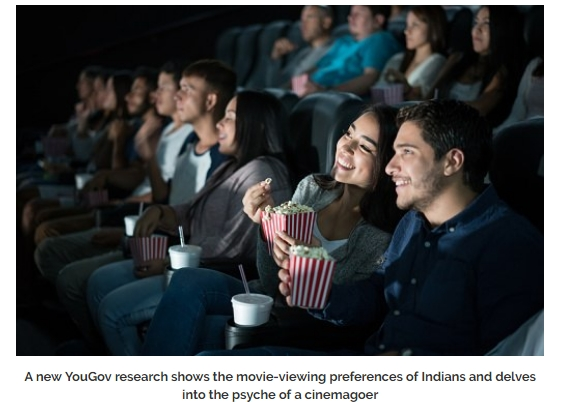 The movie viewing experience of an average Indian cinemagoer