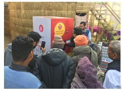 Ogilvy Creates Unique Red Label Tea for Trash Machines at Kumbh