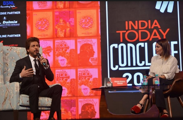To be in the spotlight is lonely: Shah Rukh Khan at India Today Conclave 2017