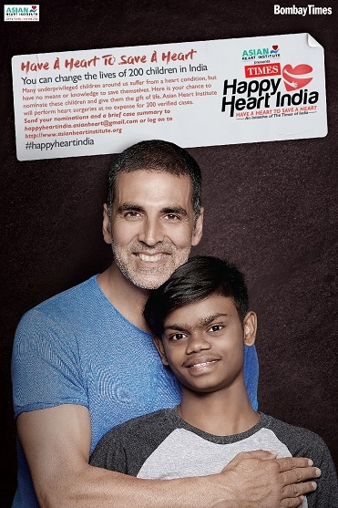 TOI and Asian Heart Institute launch #HappyHeartIndia campaign