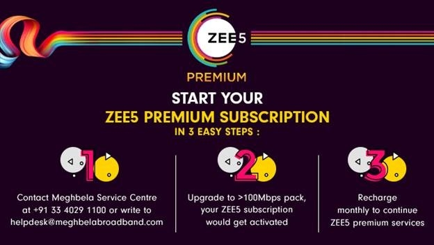 ZEE5 strengthens ISP distribution ecosystem; partners with Meghbela Broadband