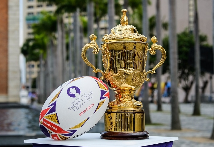 India Prepares to Welcome the Webb Ellis Cup as Part of the Rugby World Cup 2019 Trophy Tour