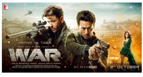 Yash Raj Films to Offer Bollywood Blockbuster WAR in MX4D EFX Format
