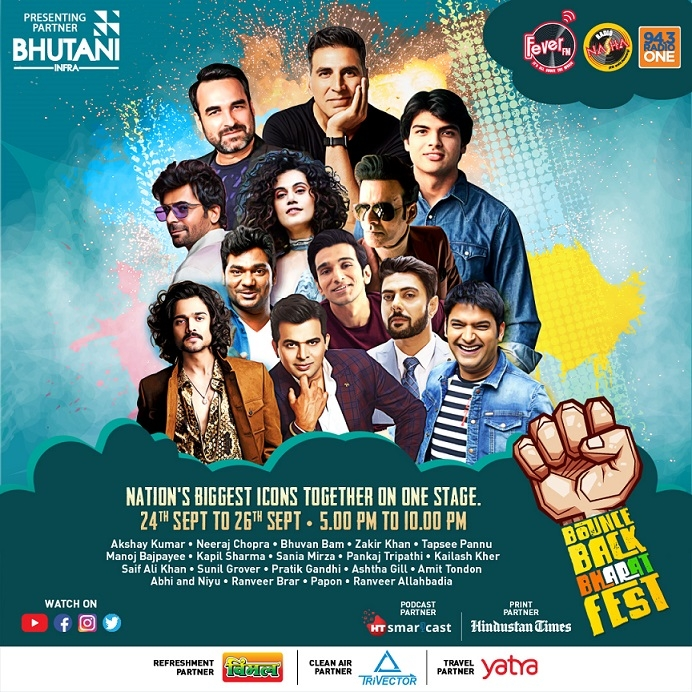 The Silver Lining is here! Bounce Back Bharat Festival is here to inspire the nation.