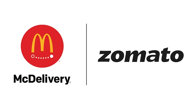 McDonald's India – North and East adds Zomato as delivery partner