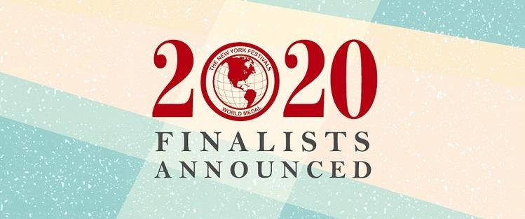 New York Festivals 2020 TV & Film Awards Announces Finalists