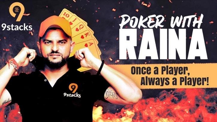 9stacks Signs Ace Cricketer Suresh Raina as a Brand Ambassador