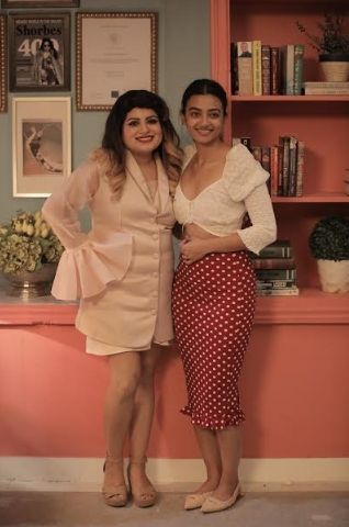 """My husband fell in love with my careless way of eating,"" says Radhika Aapte on TLC's Midnight Misadventures with Mallika Dua"
