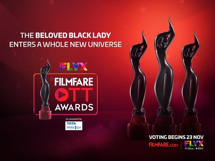 Filmfare announces the inaugural Flyx Filmfare OTT Awards