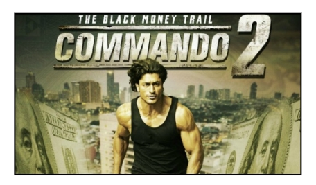 &pictures to air the action packed film Commando 2
