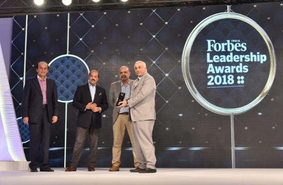 Vivek Chaand Sehgal wins Forbes India 'Entrepreneur for the Year 2018' Award