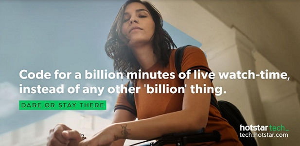 Hotstar Launches New Bold Campaign