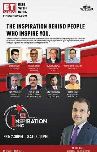 ET NOW launches 'Inspiration Inc'